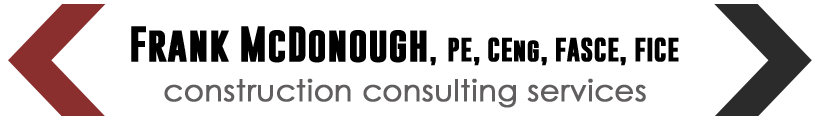 frank-mcdonough construction consulting services