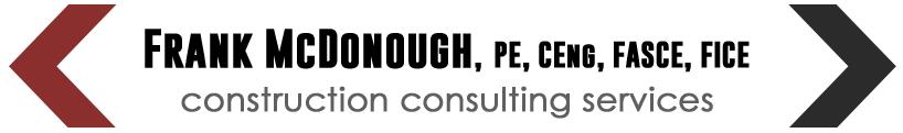 frank-mcdonough construction consulting services